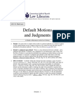 Default Judgment