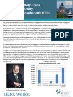 HERC Works College of Holy Cross Case Study