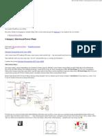 Electrecal Power Plant « Arismkr's Blog