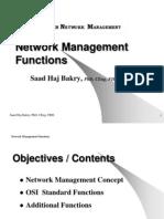 Basic Network Management Functions