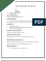 Vinod - Curriculum Viate