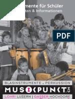 Instrumente für Schüler 2012
