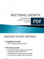 Lecture 8 - Bacterial Growth