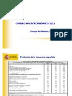 Presupuestos Generales 2012