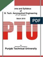 Aeronautical Engg Syllabus 2010