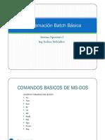 Programación Batch Básica v2