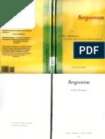Deleuze, Gilles; Bergsonism