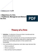 Theory of a Firm