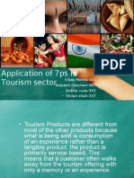 Application of 7ps in Tourism Sector FINAL