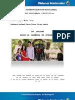 Informe Misionero a Febrero 2012-Dorada