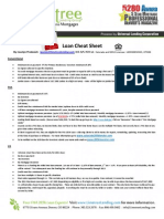 Loan Cheat Sheet By Jocelyn Predovich