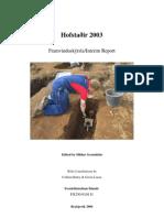 Hst2003 Report