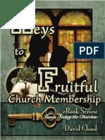Keys to Fruitful Church Membership