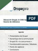 Drupagora Presentation Drupal LINAGORA 20111110