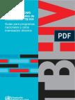 Política de la OMS sobre actividades de colaboración TB/VIH