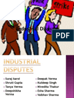 Industrial Dispute Presentation