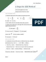4.Design Steps for ASD - - STEEL STRUCTURES