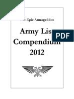 NetEA - Compendium 2012