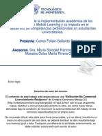 Análisis de la implementación académica de los recursos de Mobile Learning y su impacto en el desarrollo de competencias profesionales en estudiantes universitarios