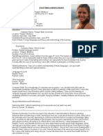 CV Exemplu as-2011