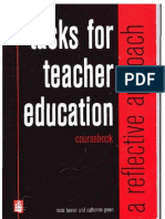 Tasks for Teacher Education-Reflective Approach
