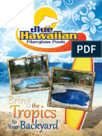 Blue Hawaiian Fiberglass Pools 2012 Catalog