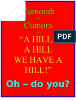 Cumorah or Cumorah or 'a Hill a Hill We Have a Hill'