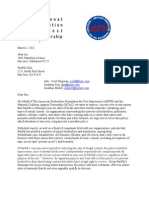 NCAC, ABFFE Letter To PayPal & eBay re