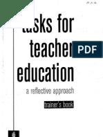 Task for Teacher Trainer Book