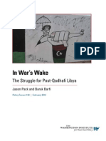 In War's Wake The Struggle for Post-Qadhafi Libya