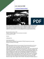 Carta Paridade Já, de Mariza Monteiro Borges