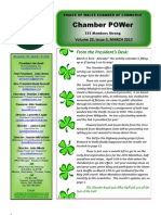 Prince of Wales Chamber of Commerce POWer Newsletter March 2012