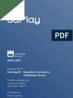 Requisitos Funcionais e Viabilidade Técnica - Projecto uaPlay
