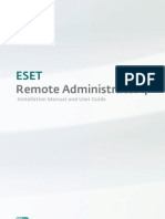 ESET Remote Administrator User Guide English