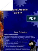 Lead and Arsenic Toxicity