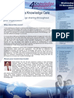 Gurteen Knowledge Cafe Master Class Pretoria
