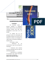 Ficha de Trabalho nº5-Como Elaborar-Analisar-Interpretar Cartazes
