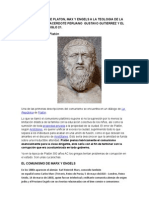Del Comunismo de Platon (1)