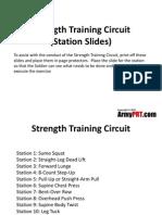 Strength Training Circuit