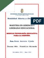 Primera pregunta (Nuevas Tecnologías en la Educación)
