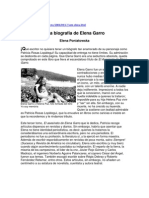 Elena Garro_biografía por Elena Poniatowska