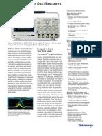 MSO-2000 Digital Phosphor Mixed-Signal Oscilloscopes