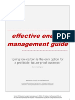 Effective Energy Mgt Guide