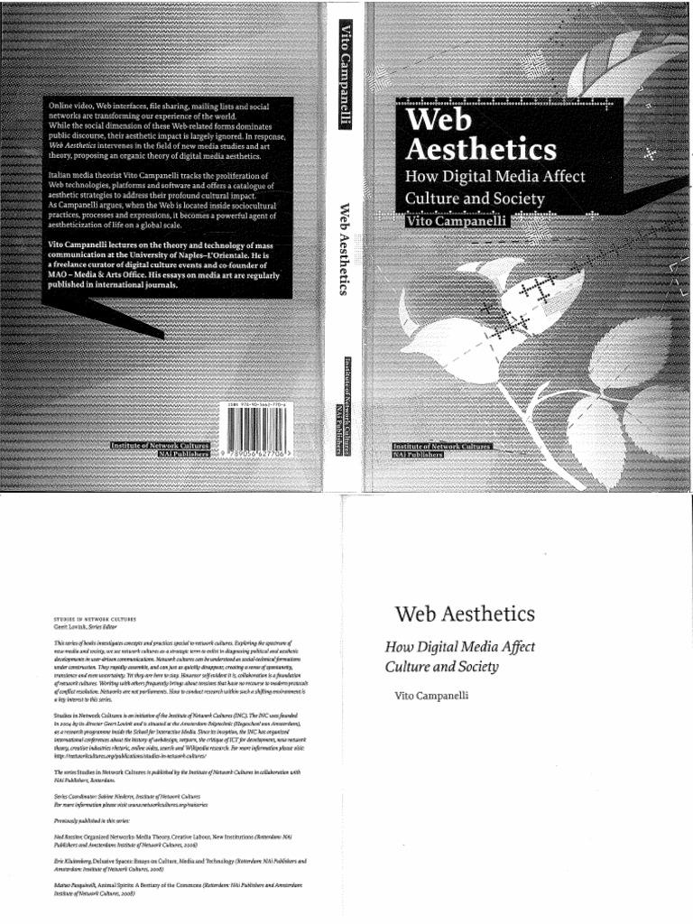 Campanelli Vito Web Aesthetics How Digital Media Affect Culture and ...