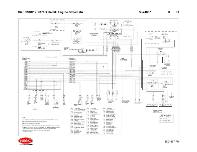c13 cat engine injector wire diagram cat 3406e engine Cat 6 Wiring Diagram Cat 6 Wiring Diagram