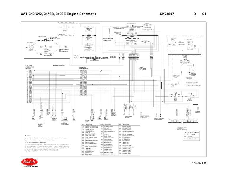 3406e Wiring | Land Vehicles | VehiclesScribd