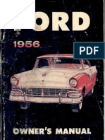 337835 1956 Ford Owners Manual
