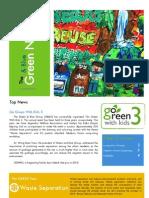 The Green&Blue Newsletter Vol.1
