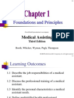 Chapter 01 the Profession of Medical Assisting