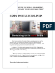 A Case Study on Rural Marketing by Sourabh Tandon 23-2-2012